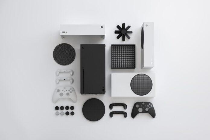 gaming console black_white_intelligent_geometry